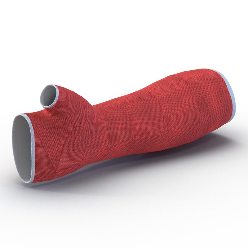 orthopedic cast arm 3d 3ds