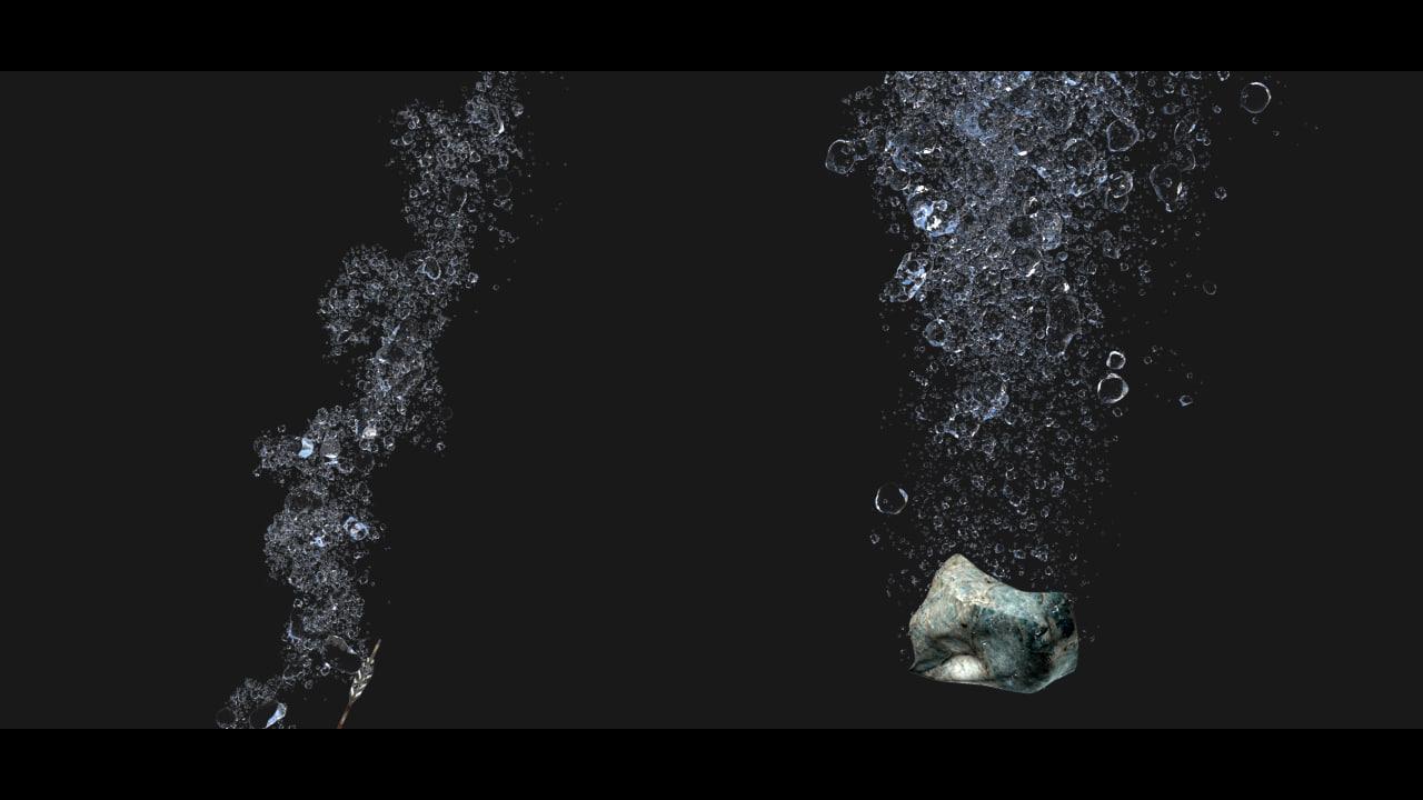 max underwater bubbles
