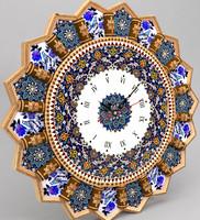 3d iranian clock model