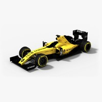 Renault R.S.16 Yellow F1 Season 2016