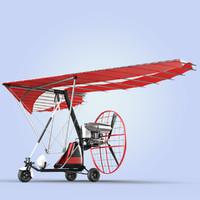Motor Trike Hang Glider