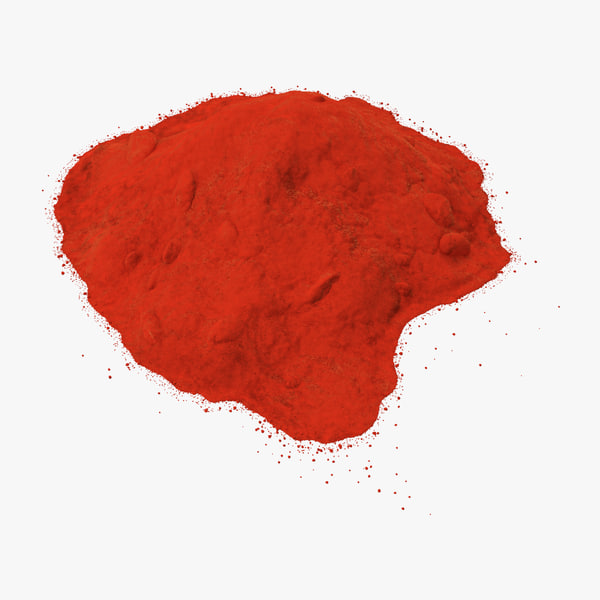 red curry powder 3d max