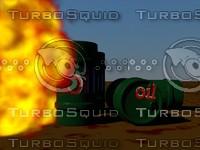 3d model oil