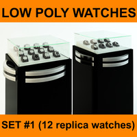 replica watches set 12 3d 3ds