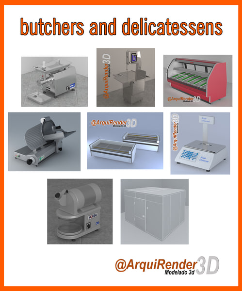3d gallery butchers delicatessens