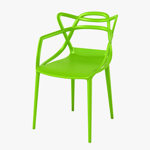 3d kartell masters chair model