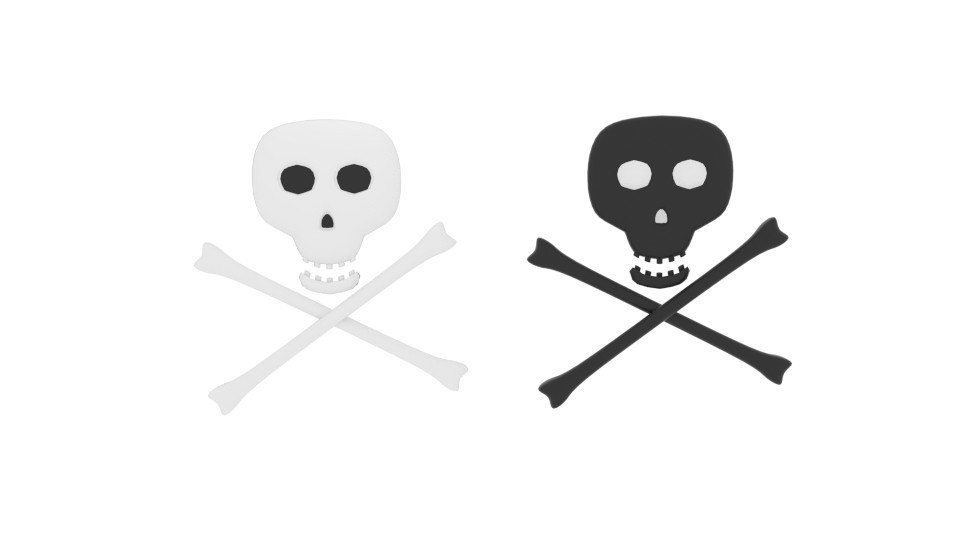 poison skull 3d 3ds