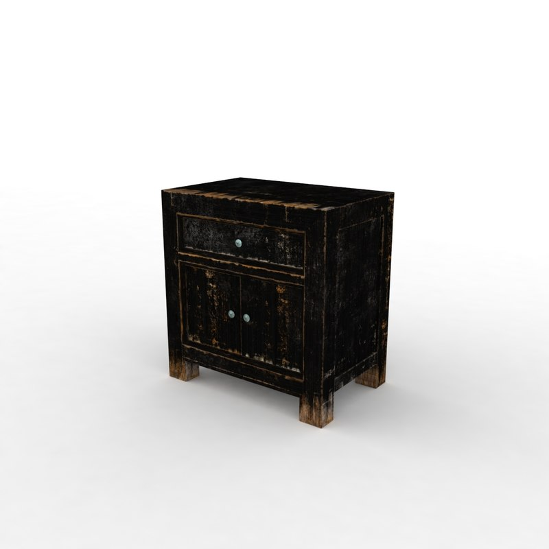little table 3d max
