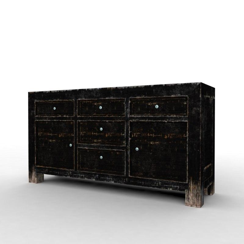 table wardrove 3d max