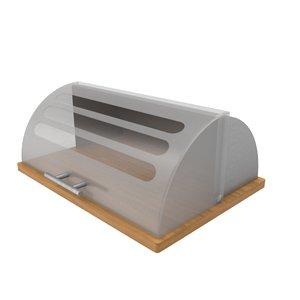 bread box 3d max