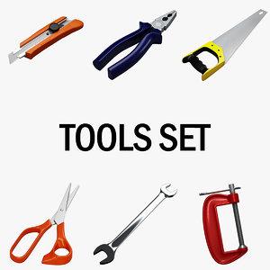 tools set 3d max