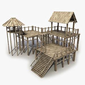 3d model modeled games
