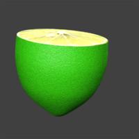 lemon slice 3d model