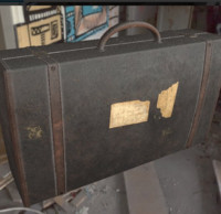 suitcase abandoned ready obj