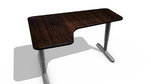 ikea table 3d model
