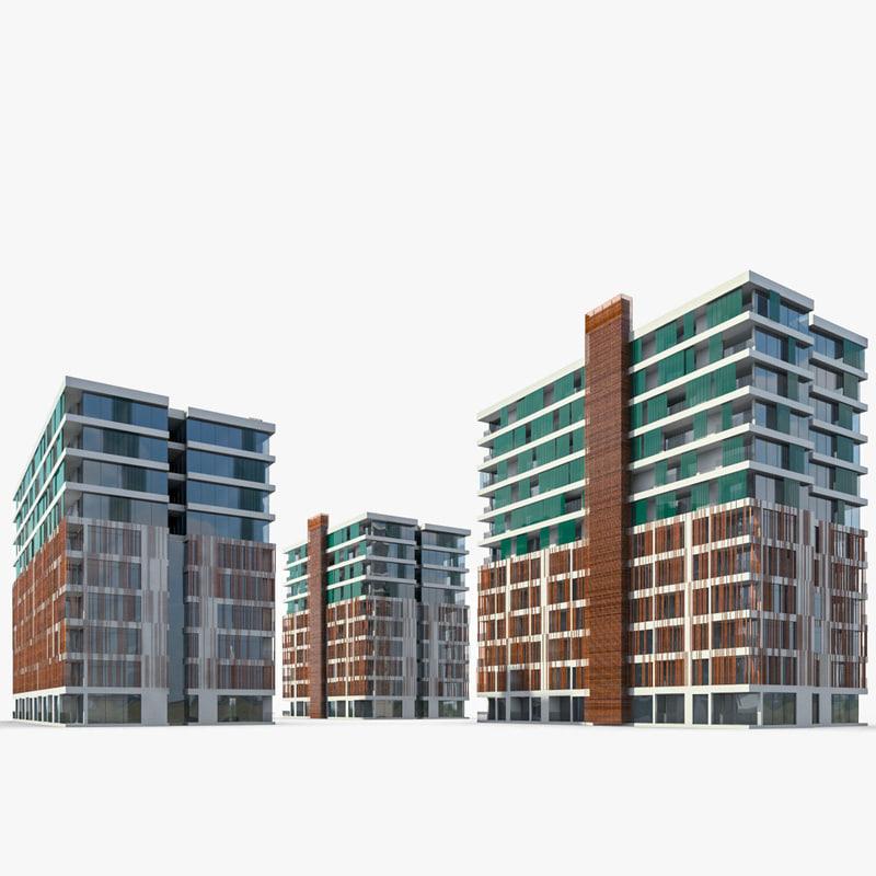 max residential buildings
