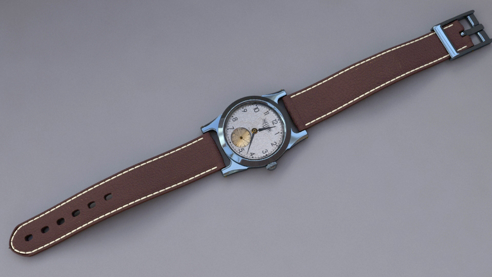 3d model heuer whatch