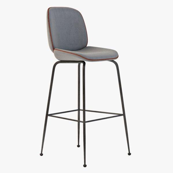 3d model gubi beetle stool