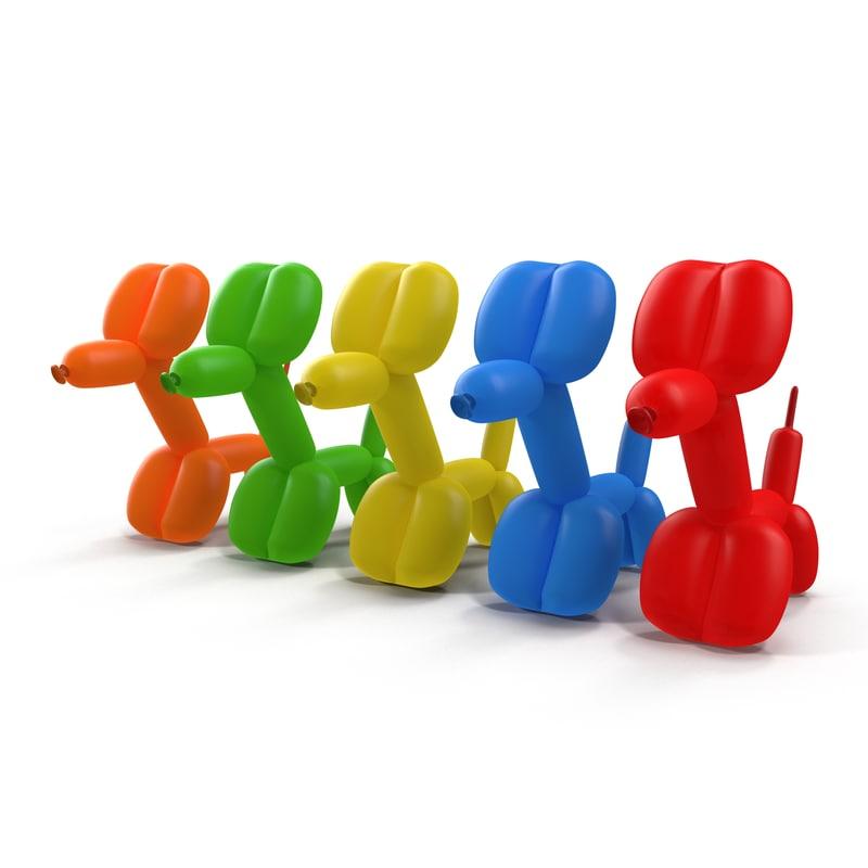 Balloon Dogs Set 3d models 02.jpg