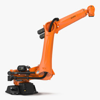 Kuka Robot KR QUANTEC Ultra Rigged