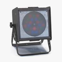 led par light altman 3d model