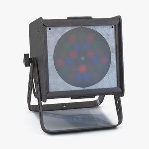 led par light altman 3d model