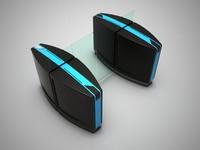 3d model stile turnstile