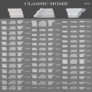 3d ma ceiling cornices classic home