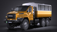GAZ Ural Next 2015 Rotational Bus