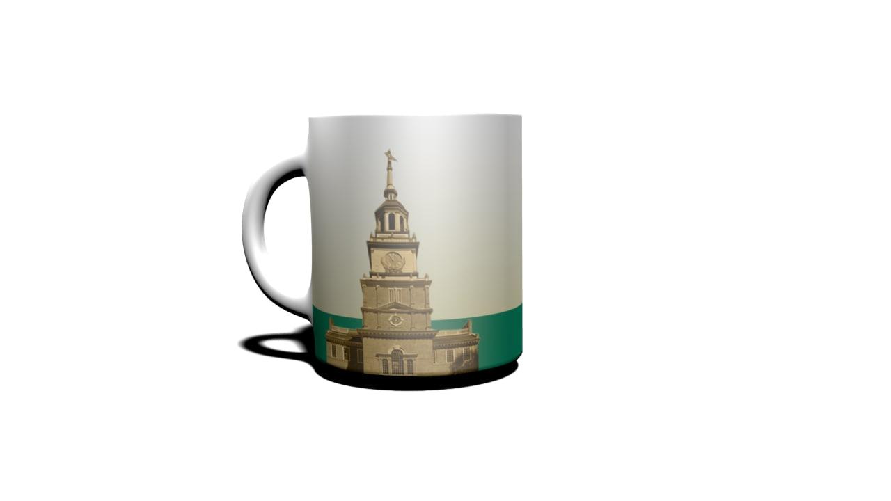 philadelphia cup 3d model