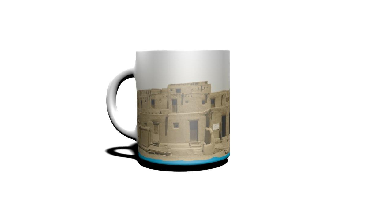 new-mexico cup 3d model