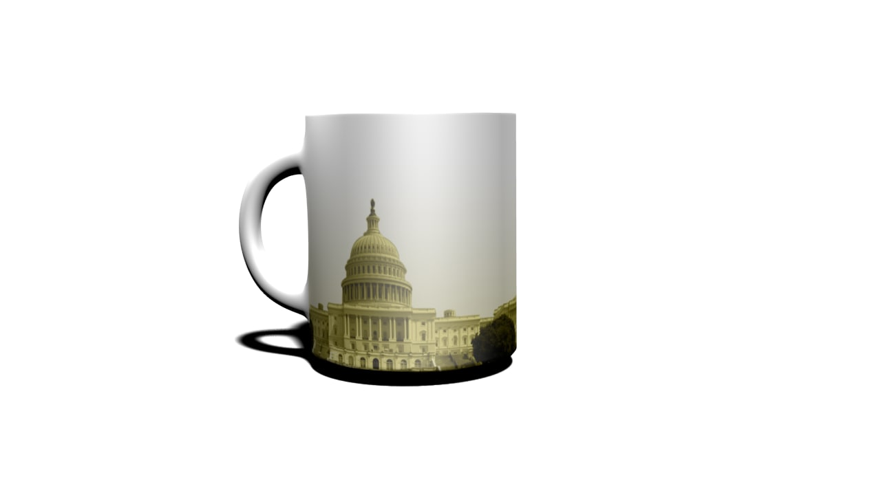 3d sacramento cup model