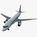 Airbus A319 3D models