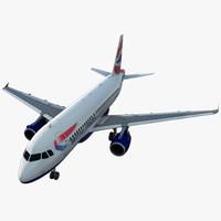 max airbus a319 british airways