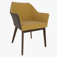 Chair with Armrest Foxy Duo