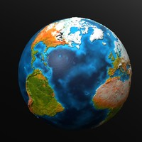 Earth HiPoly