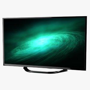 led television 3d obj