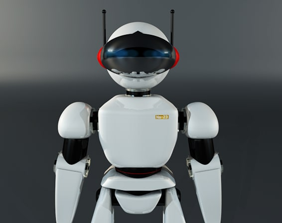 robot character 3ds
