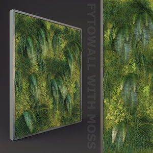 fytowall moss 3d model