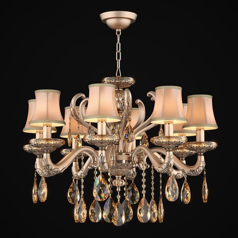 3d model chandelier 697082 md89191 8