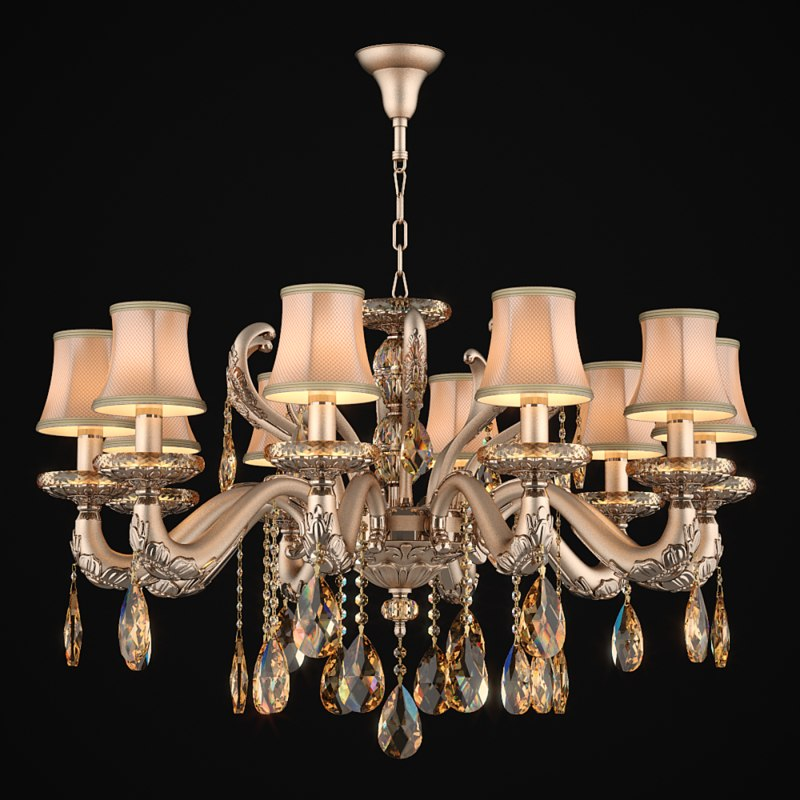 3d model of chandelier 697102 md89191 10