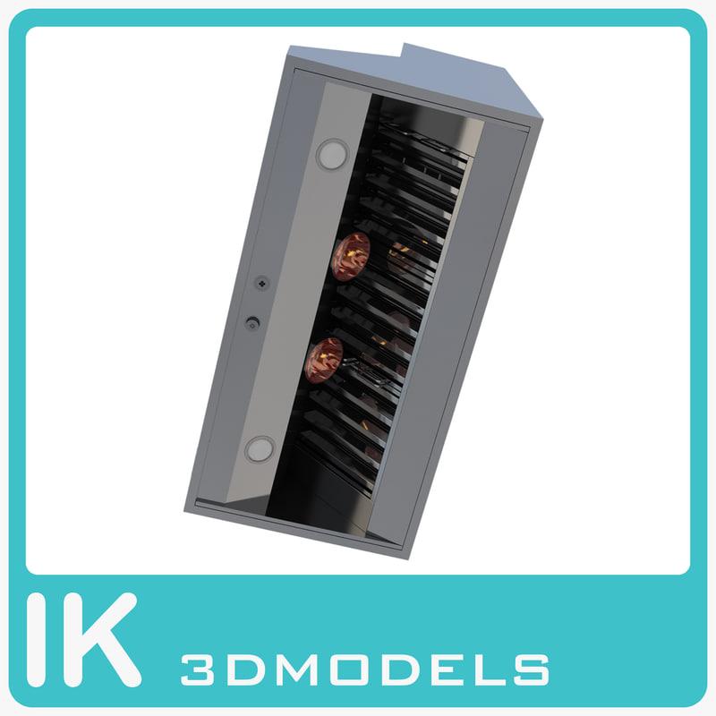 3d viking 48 inch ventilation