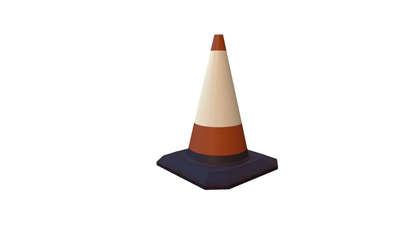 street cone 3d x