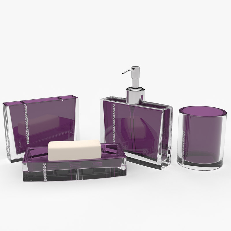 bathroom set 3d model