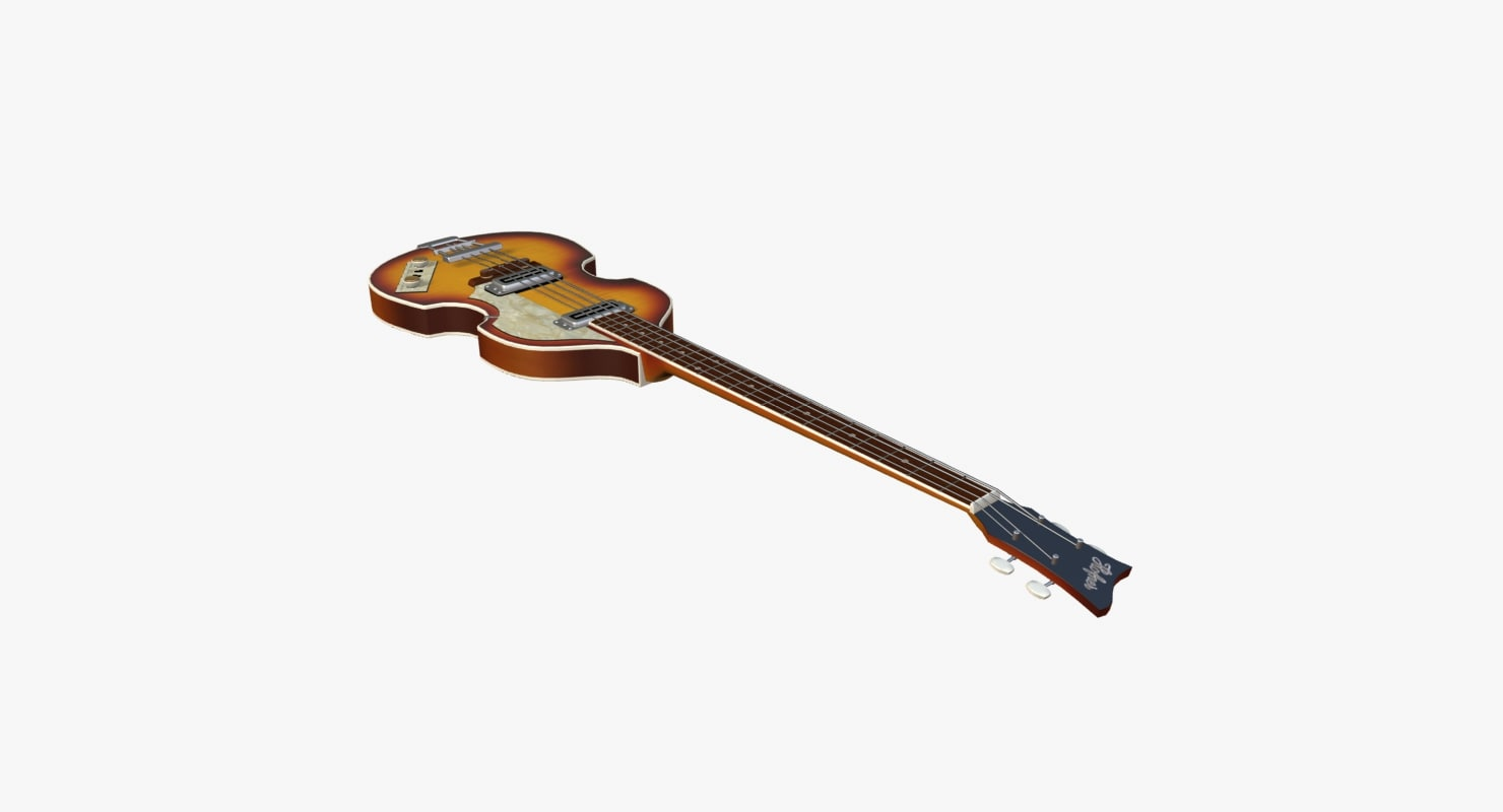 3d hoffner bass model