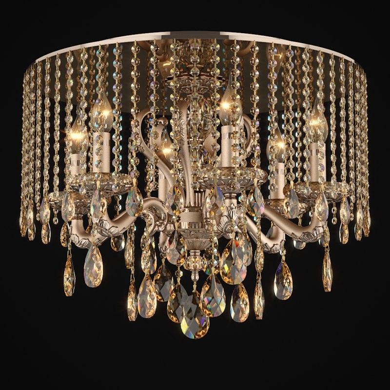 3d max chandelier 697162 mx89191 6