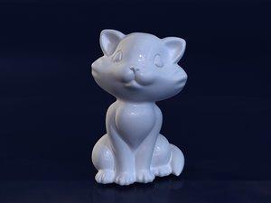 cat mold hand 3d model