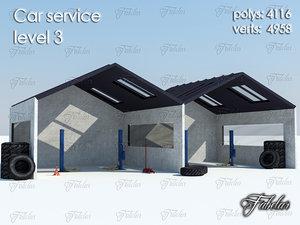 3d car service level 3
