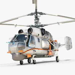 kamov ka-32a11bc multipurpose 3d max