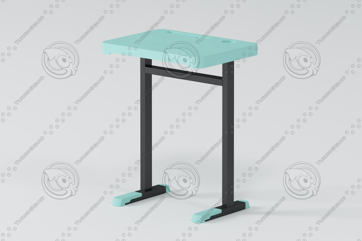 table school 3d max
